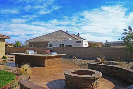 Custom concrete bbq patio apple valley ca conco - Swimming pool contractors apple valley ca ...