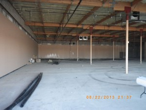 A before picture - World's Gym in Victorville CA